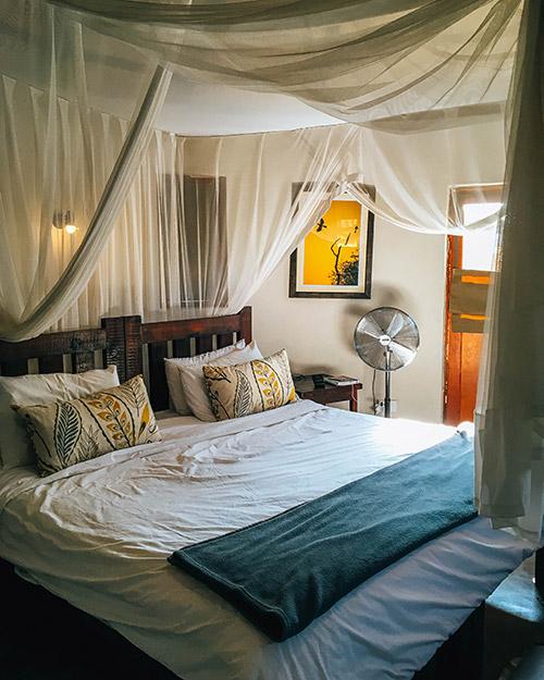Africa on Foot room interior